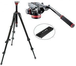 Manfrotto 755XB w 502 Head