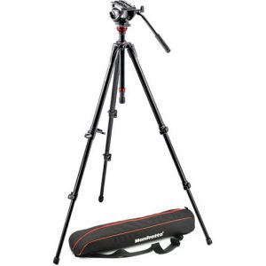 Manfrotto 755XB w MVH500AH Head